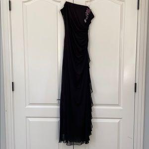 Scene   strapless prom dress